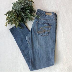 Seven7 Medium Wash Skinny Jeans